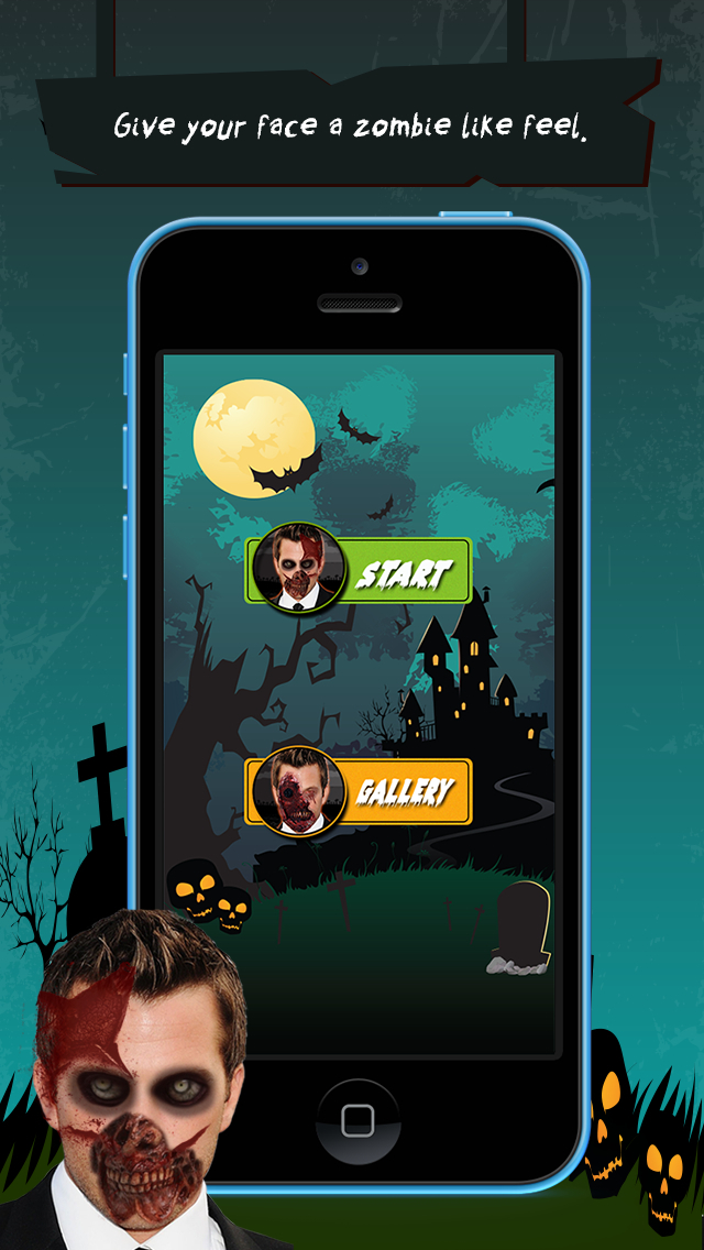 Zombie Booth Lite screenshot 1