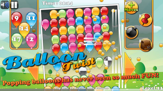 Balloon Twist - Collapse Match-3 Blast screenshot 1