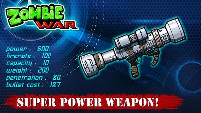 Zombie War - Save The World screenshot 4