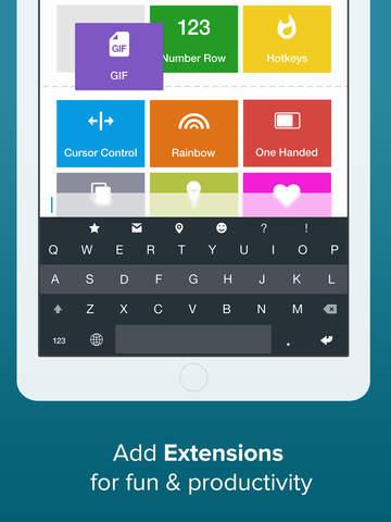 Fleksy- GIF, Web & Yelp Search screenshot #3