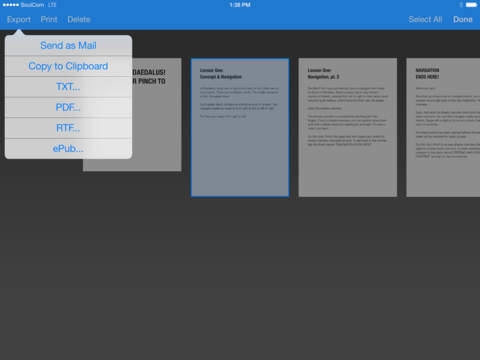 Daedalus Touch – Text Editor for iCloud screenshot 9