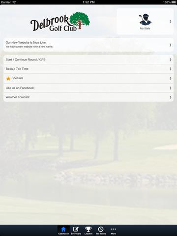 Delbrook Golf Club screenshot 7