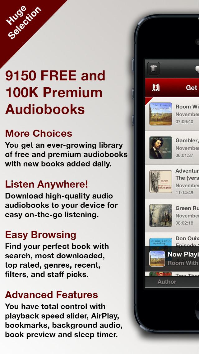 Audiobooks HQ screenshot 1
