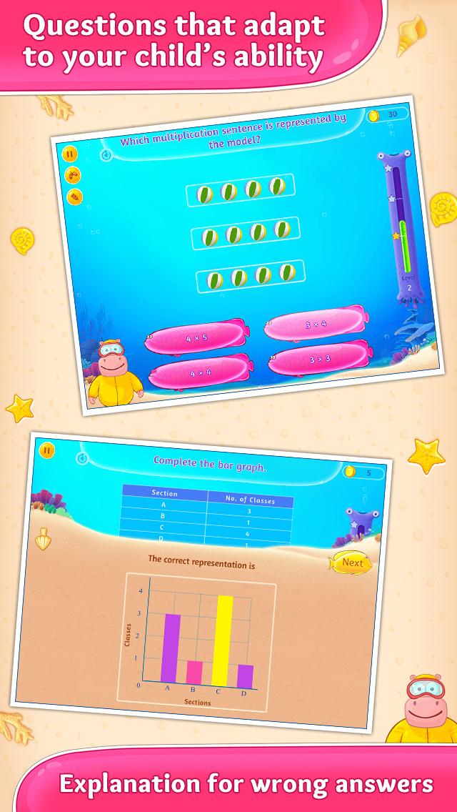 3rd Grade Math Games for Kids screenshot 3