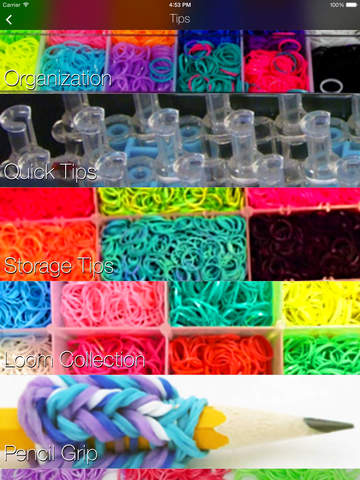 Loom Band Designs for Rainbow Loom screenshot 9