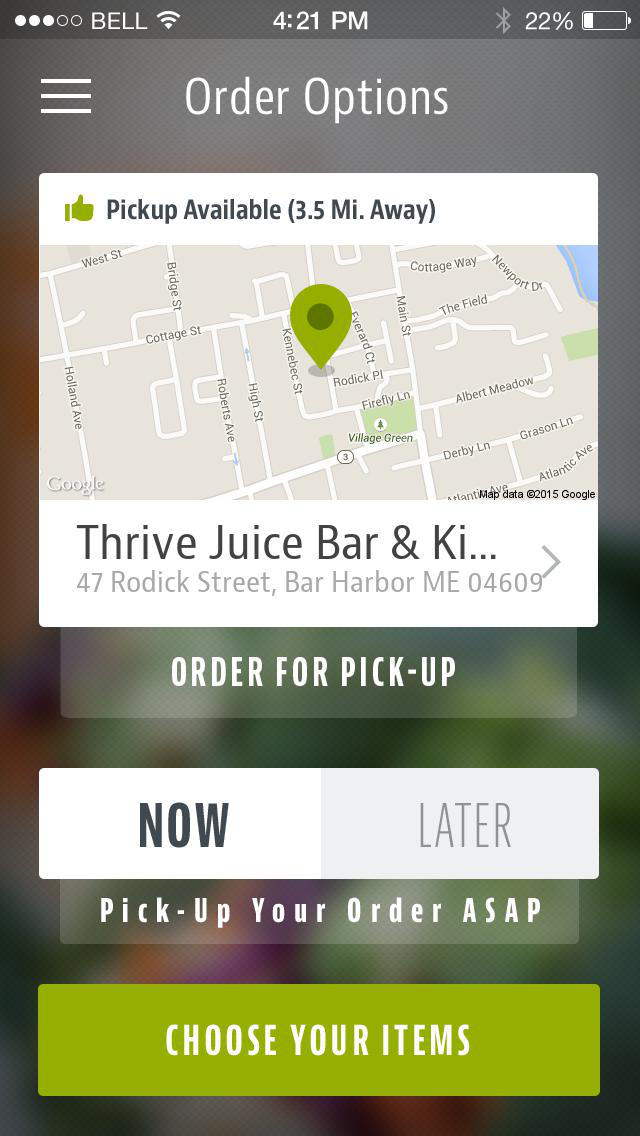 Thrive Juice Bar & Kitchen screenshot 2