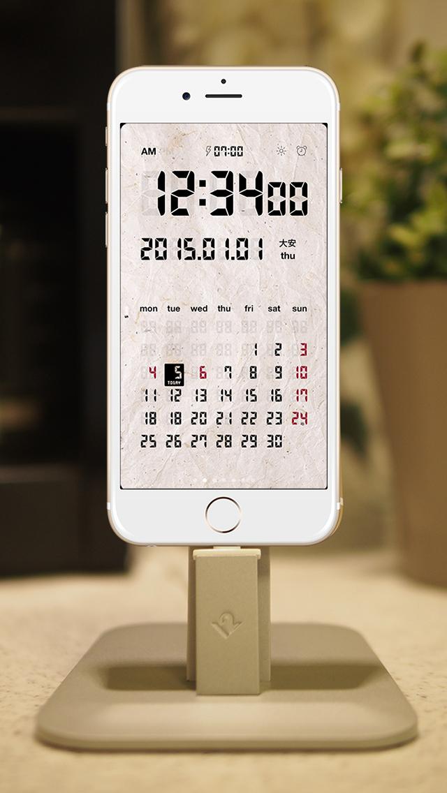 LCD Clock - Clock & Calendar screenshot 5