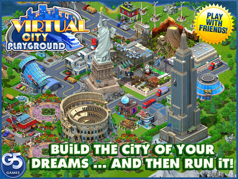 Virtual City Playground HD screenshot 1