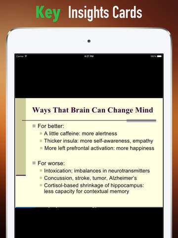 Buddha's Brain: Practical Guide Cards with Key Insights and Daily Inspiration screenshot 9