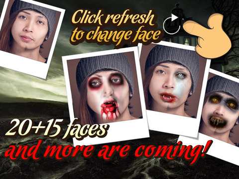 Vampire Face Maker - Turn Your Pic Into a Scary Mo - náhled