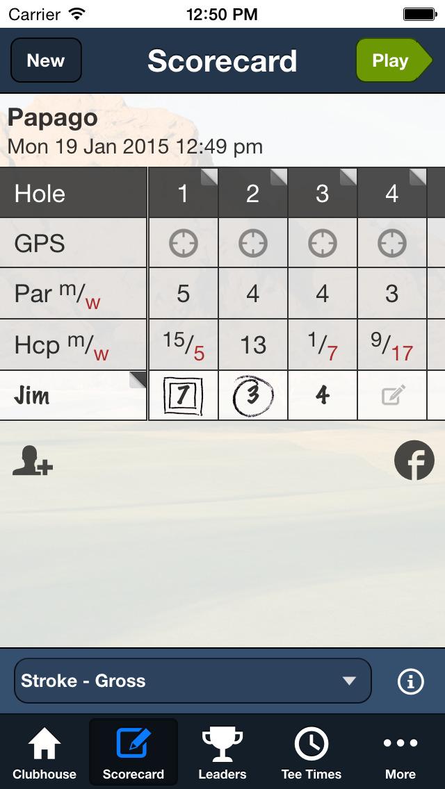 Papago Municipal Golf Course screenshot 3