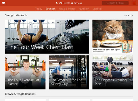 MSN Health & Fitness screenshot 7