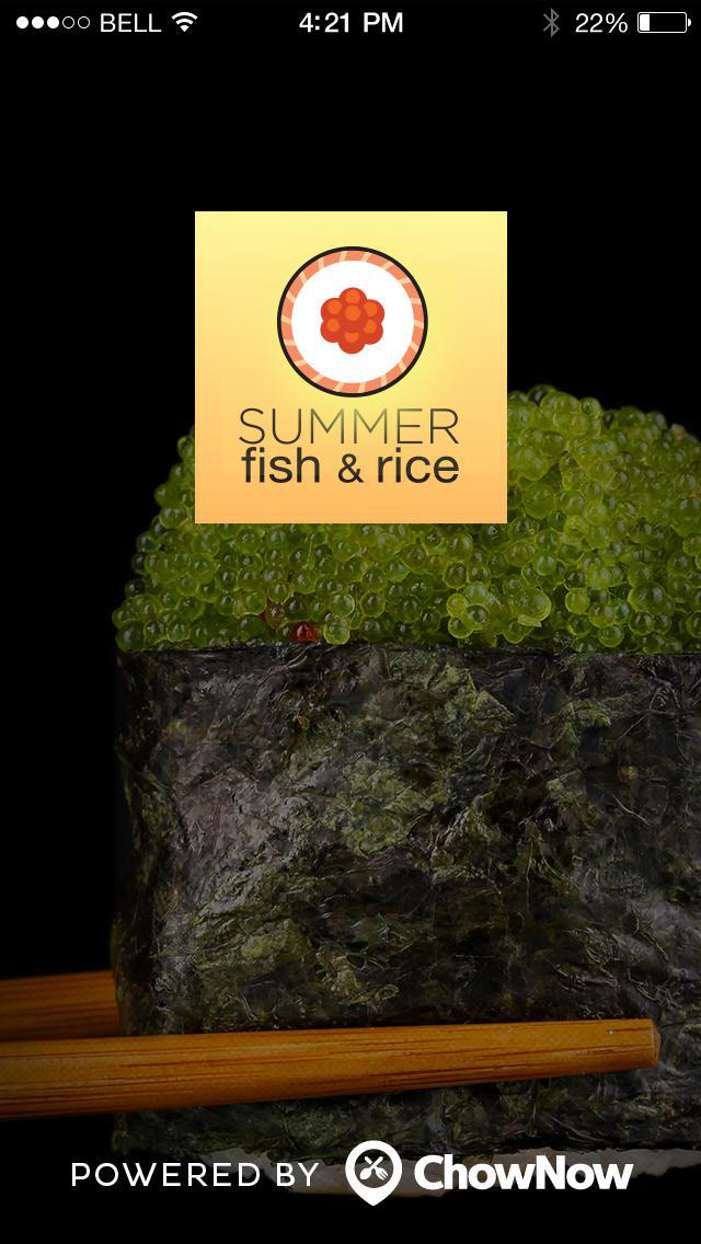 Summer Fish & Rice screenshot 1