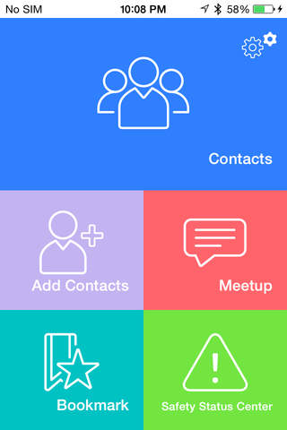 Contact&Meet - náhled