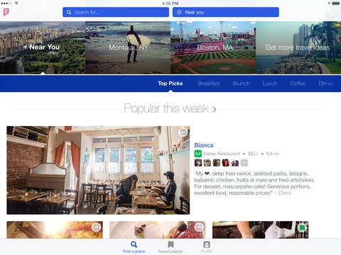 Foursquare City Guide screenshot 6