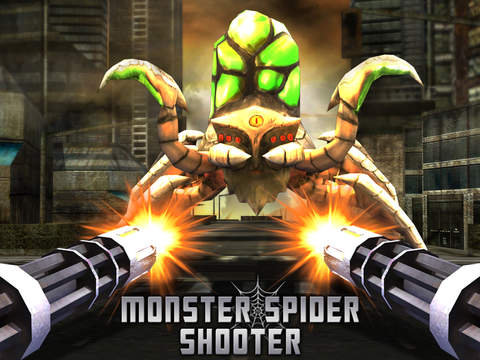 Monster Spider Shooting 3D screenshot 6