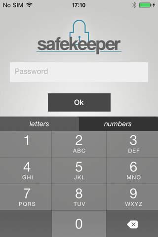 Safekeeper - náhled