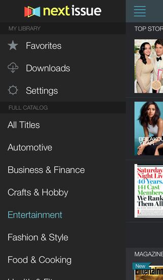 Texture – unlimited digital magazines screenshot 3