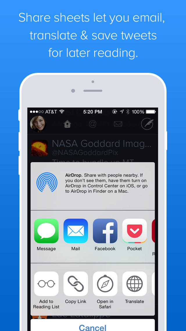 Twitterrific: Tweet Your Way screenshot 3
