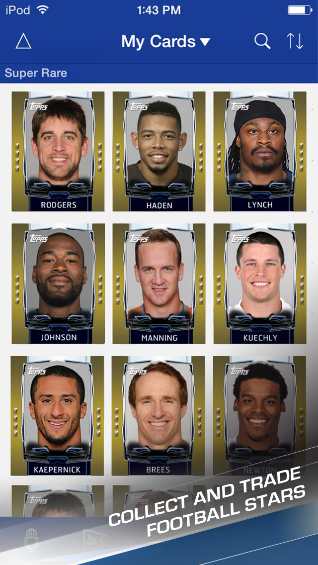 Topps NFL HUDDLE: Card Trader screenshot 4