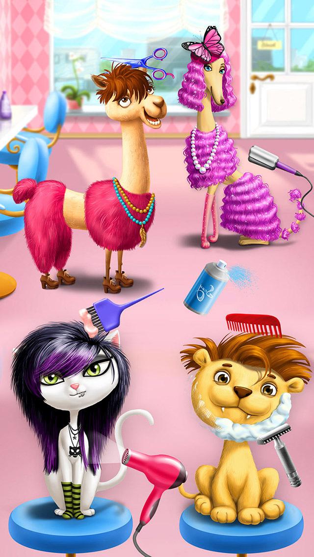 Animal Hair Salon & Dress Up screenshot 1