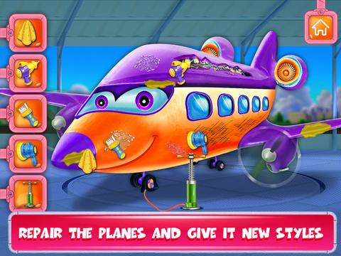 Daycare Airplane Kids Game screenshot 8