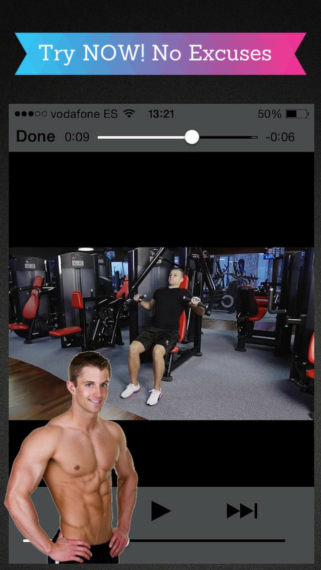 Body You Want: Get an Athletic Shape and Build Muscle Mass with Best Fitness Exercise at Gym screenshot 2