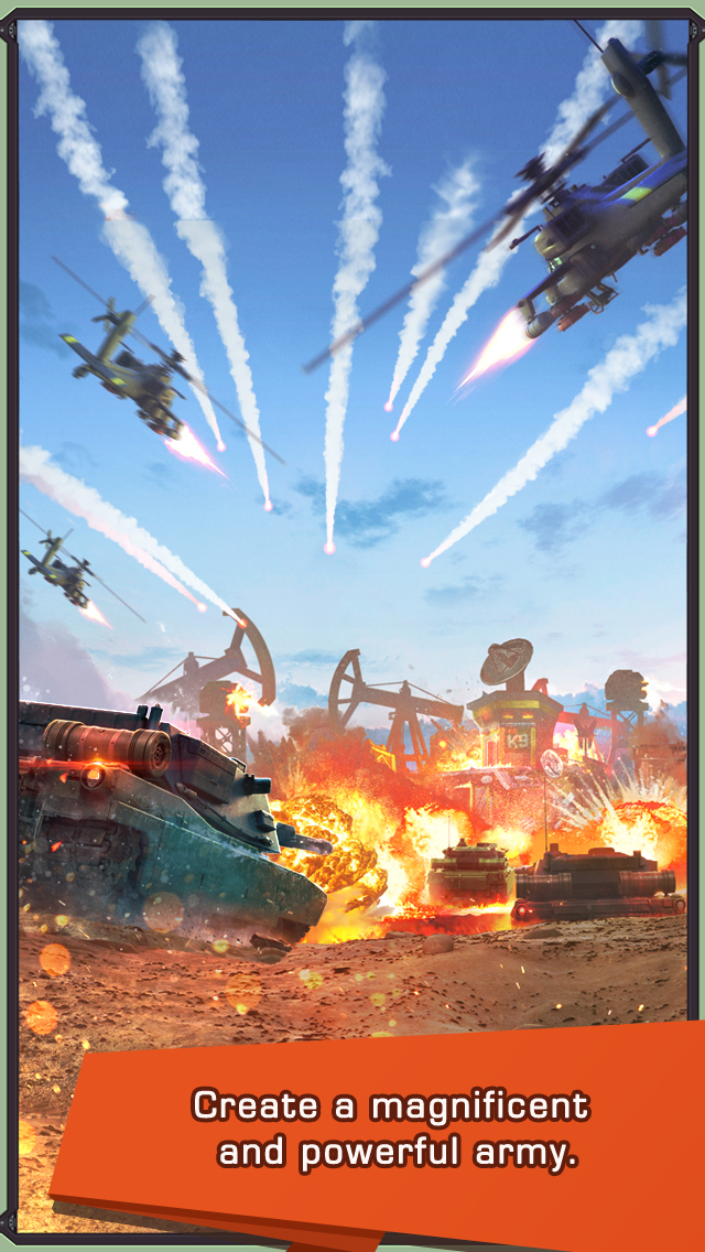 Iron Desert - Fire Storm screenshot #2