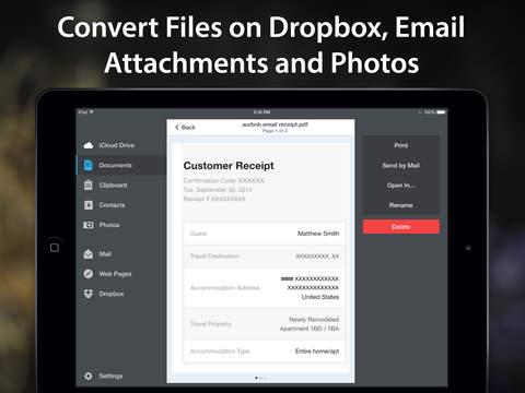 PDF Converter by Readdle screenshot 8