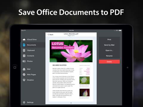 PDF Converter by Readdle screenshot 7