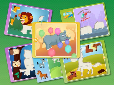 Kids Animal games-SmartPuzzles screenshot 7