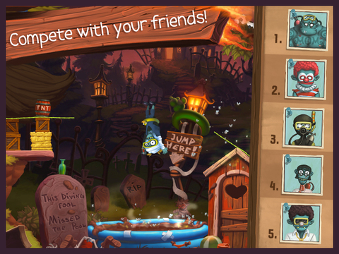 Zombie High Dive screenshot 10