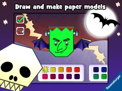 Play-Origami Monster screenshot 8