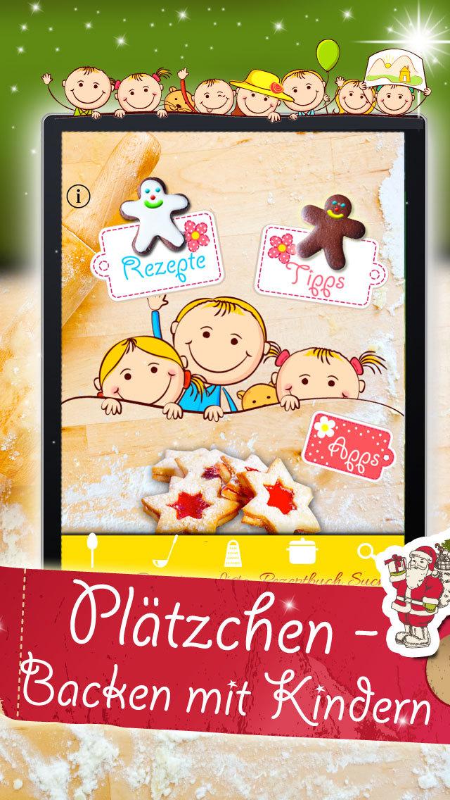Plätzchen backen mit Kindern screenshot 4