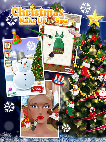 Christmas MakeUp Spa - Princess Fashion Salon screenshot 5