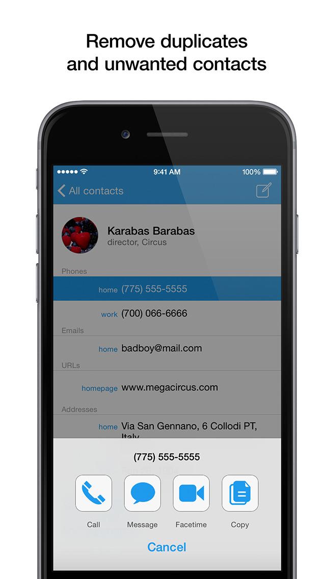 PhoneBook - Сontact Management screenshot 5