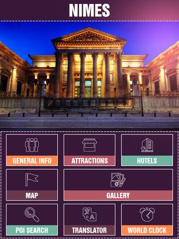 Nimes City Offline Travel Guide screenshot 7