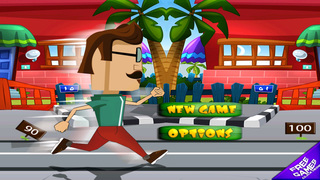 ` Hipster Race Running Battle Competition Games Work-out Free Fun screenshot 1
