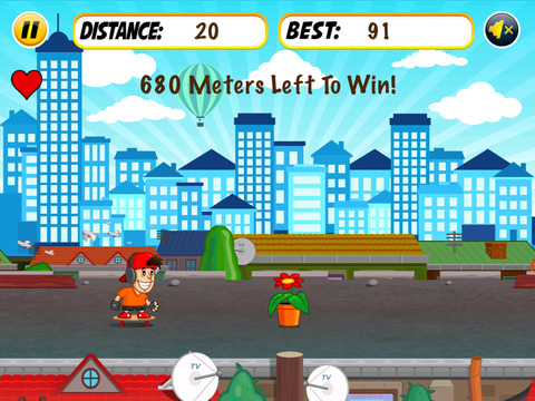 Skyline Dash Run - Skaters vs Obstacles screenshot 2