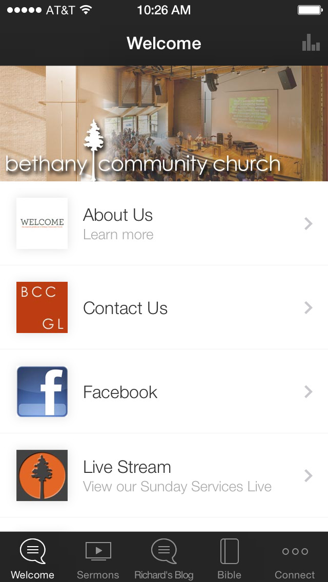 Bethany Community Church screenshot 1