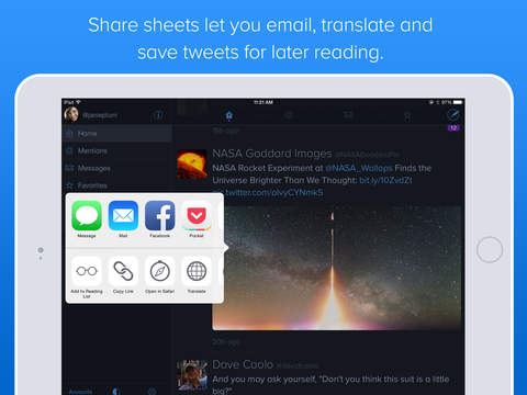 Twitterrific: Tweet Your Way screenshot 8