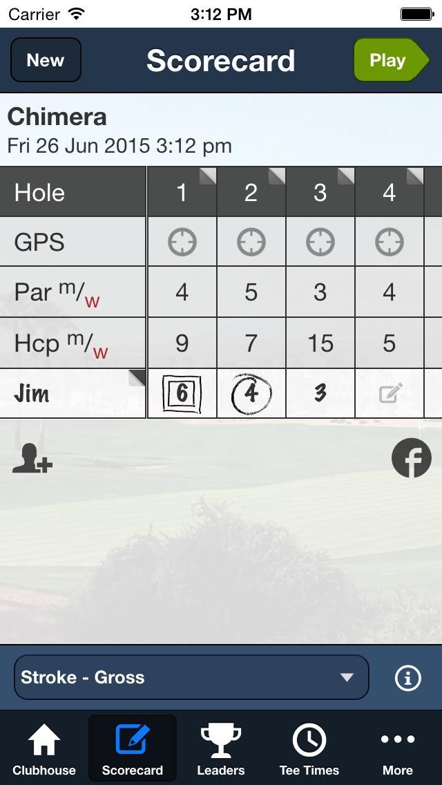 Chimera Golf Club screenshot 3