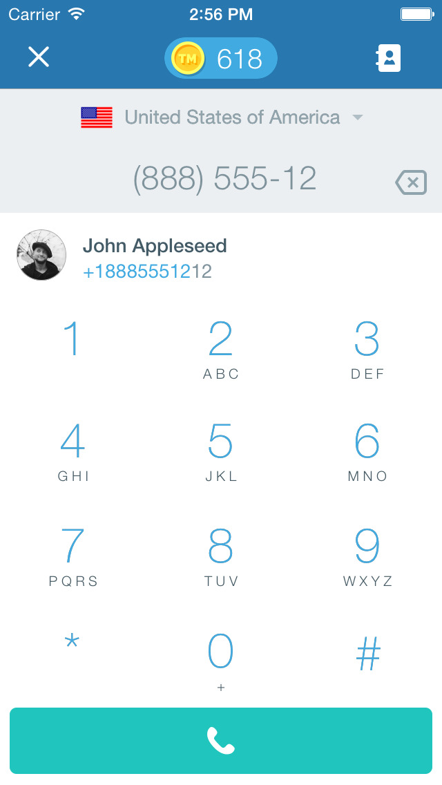 Free Tone - Calling & Texting screenshot 2