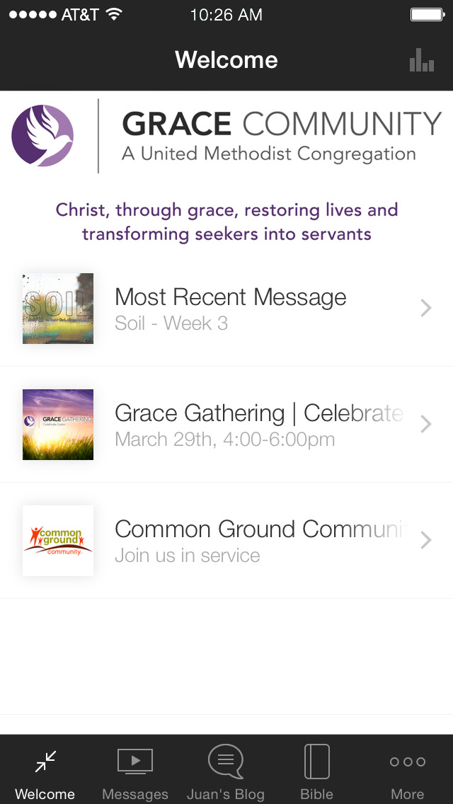Grace Community UMC screenshot 1