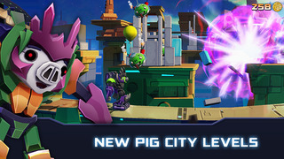 Angry Birds Transformers screenshot #2