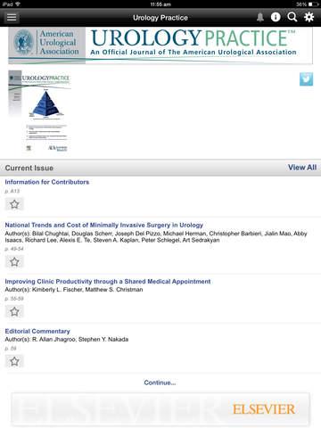American Urological Association Journals screenshot 7