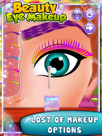 Beauty Eye Makeup Game screenshot 5
