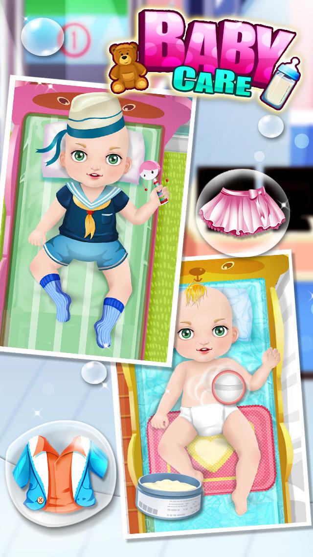 Baby Care & Baby Hospital - Kids games screenshot 3