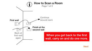 RoomScan Pro – floor plan app screenshot 3