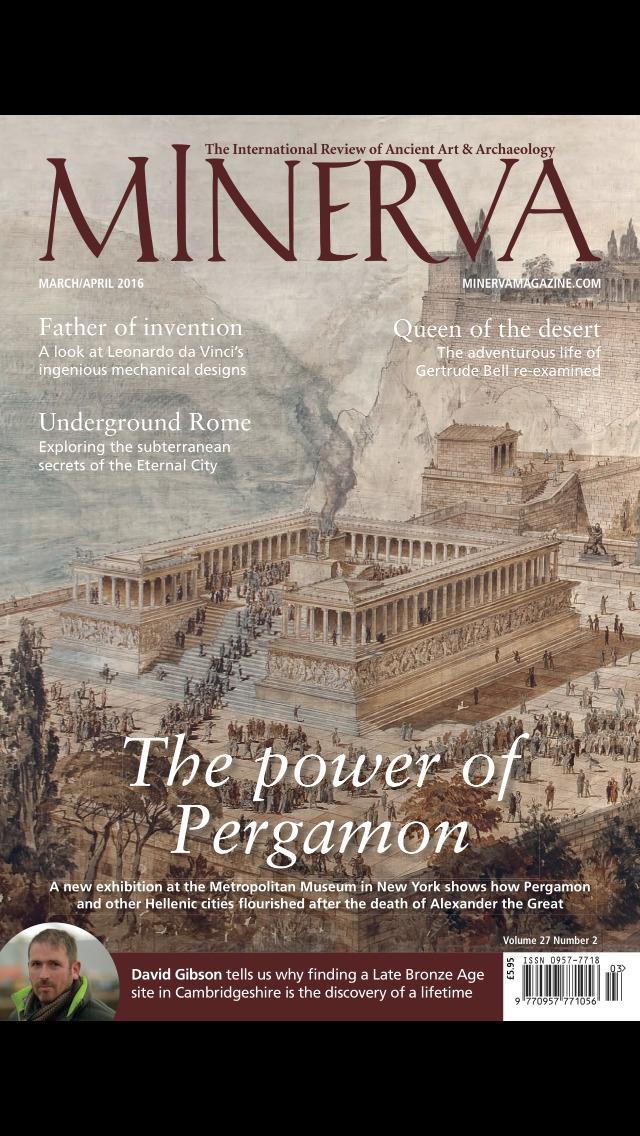 Minerva (Magazine) screenshot 1